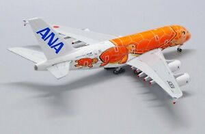 "1:500 JC Wings All Nippon Airways (ANA) A380-800 ""Flying Honu Ka La"" JA383A"