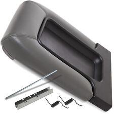 Center Console Lid Kit Arm Rest Latch Fits 99-07 GM Chevy OEM Part 19127364 Gray