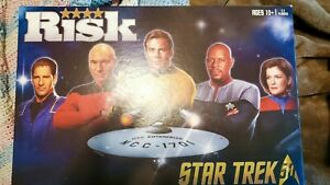 Star Trek Risk 50 Edition Board Game Complete Hasbro 2016