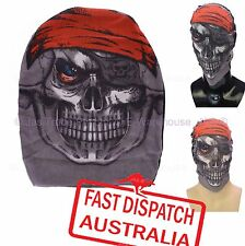 Halloween Fancy Dress Costume Party Mesh Stretch Face Mask Balaclava Pirate