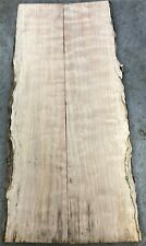 Live edge Quilted Maple Book Match, 7/8 x 4 1/2 - 6 x 22 ea, 1 price #52719-1