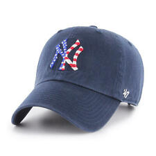 New York Yankees '47 Brand Blue Spangled Banner Clean Up Adjustable Dad Hat