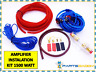 1500 Watt Complete 8 GAUGE Car Amp Audio Amplifier Cable Subwoofer Wiring Kit