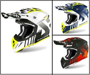 New Airoh Aviator Ace Nemesi Motorcycle Motorbike Helmet Motocross Enduro MX