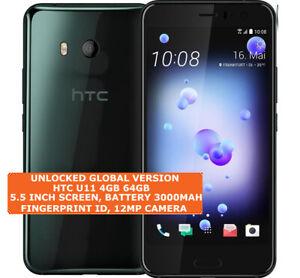 "HTC U11 4gb 64gb Octa-Core 12mp Fingerprint Id 5.5"" Android 9.0 LTE Smartphone"
