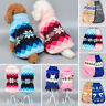 Pet Cat Dog Knitted Jumpsuit Warm Winter Sweater Coat Puppy Vest Jacket Clothes