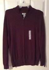 Men's Sun River Clothing 1/4 Zip Sweater Size XL New with Tags