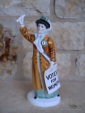 Rare Royal Doulton Votes For Women HN2816 Figurine As Is