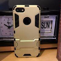 PRIMA™  Rugged  High Impact Ballistic Case Gold Apple iPhone 7 PLUS