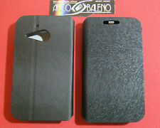 Custodia Cover ECO PELLE Per ALCATEL OT M'POP 5020D NERO Stand Case ONE TOUCH