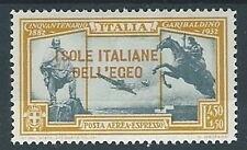 1932 EGEO ESPRESSO AEREO GARIBALDI 4,50 LIRE MH * - RR13604