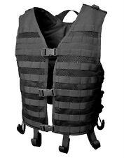 CONDOR MOLLE Modular Tactical Nylon Mesh Hydration Vest MHV-002  BLACK