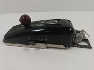 Antique White Company Vintage Rotary Sewing Button Hole Hand Held Machine !