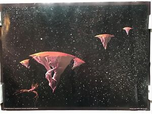 Yessongs Escape Roger Dean Vintage 1973 Big O Poster