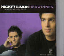 Nick&Simon-Herwinnen cd maxi single incl cd Rom cardsleeve