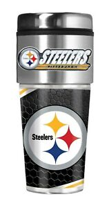 Pittsburgh Steelers Coffee Mug Travel Tumbler Free and FAST Shipping!! (NFL)