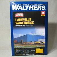 WALTHERS CORNERSTONE 933-2917 LAKEVILLE WAREHOUSE HO KIT NEW OPEN BOX B5