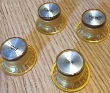 TOP HAT GOLD SILVER KNOBS GUITAR SET FOR GIBSON