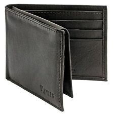 Rolfs Bifold Wallet For Men RFID Blocking with ID Window Genuine Leather Slimfod