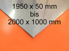 Stahlblech verzinkt 1,5 mm Stahl Feinblech Glattblech Eisenplatte Blech Platte