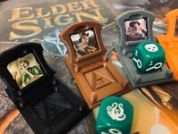 Elder Sign Character Stands with Die Holder (Set of 4) Cthulhu / Arkham