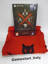 ASSASSIN'S CREED SYNDICATE ROOKS EDITION + T-SHIRT SONY PS4 - NUOVO NEW ITA
