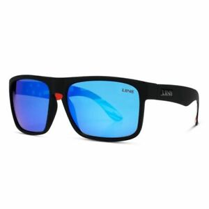Liive Vision Sunglasses - Voyager Mirror Polarized OZ Matt Black