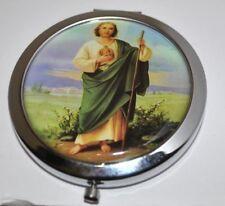 San Judas Tadeo St Jude Apostle Religious Small Mirror Espejo NEW