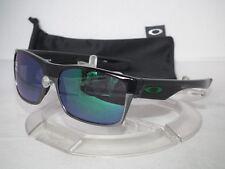 OAKLEY TWOFACE SUNGLASSES OO9189-04 Polished Black / Jade Iridium