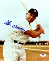 Gene Woodling autographed signed 8x10 photo MLB Washington Senators PSA COA