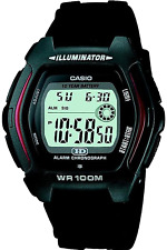 """Casio Collection �€"""" Herren-Armbanduhr mit Digital-Display und Resin-Armband �€"""" HDD"""
