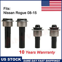 4pcs Front Bushing Engine Cradle Subframe Crossmember Fit Nissan Rogue 08-15