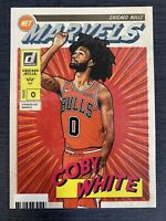 Coby White 2019-20 Panini Donruss NET Marvels Insert RC SP Chicago Bulls Rookie