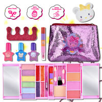 Pretend Play Cosmetic Makeup Toy Set Kit for Little Girls Kids 9Pcs Beauty Toys