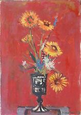 Daniel du JANERAND (1919-1990) HsT Années 1959 Nle Ecole de Paris Jeune Peinture