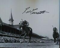 Ron Turcotte autograph Secretariat signed Kentucky Derby 1973 8x10