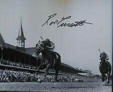 Ron Turcotte signed Secretariat autograph Kentucky Derby 1973 8x10