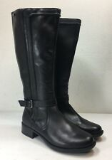 Rockport Womens Black Christy Waterproof Riding Boots Shoe Size 9 W