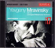 Evgeny Mravinsky: Shostakovich Symphony No. 8 Chostakovitch CD 1947 Leningrad