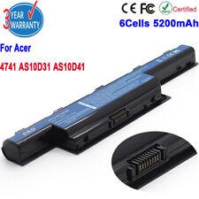 6Cells  For Acer 4741 7741 AS10G3E AS10D73 AS10D75 AK.006BT.080 AS10D31 Battery