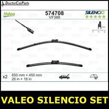 Front Wiper Blade Set Pair FOR AUDI A3 8V UK ONLY 2.0 13->ON Petrol Valeo