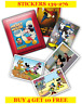 PANINI MICKEY MOUSE STICKER STORY SINGLE STICKERS 139-276(2018)BUY 4 GET 10 FREE