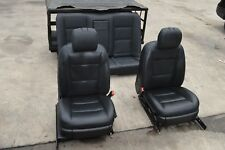 10-13 W221 MERCEDES S550 S400 S350 HEATED SEAT SEATS FRONT & REAR SET BLACK