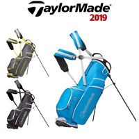 TaylorMade 2019 Lite Tech 3.0 Dual Carry Strap Golf Stand Carry Bag