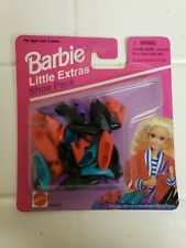 1995 Vintage Barbie Little Extras Shoe Pack Heels Sneakers