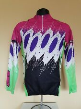 Axo Sport MCS Cycling Jersey Long Sleeve Small