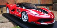 MAISTO 1:18 Scale Ferrari FXX K Red Diecast Model Car SPECIAL EDITION SEE VIDEO