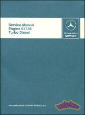 MERCEDES TURBO DIESEL ENGINE SHOP SERVICE REPAIR MANUAL BENZ BOOK