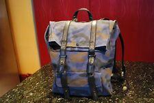 Philip Lim Canvas Unisex CAMO Backpack NEW