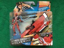 Deadpool With Missile Cannon Figure - Marvel - X-Men Origins Wolverine